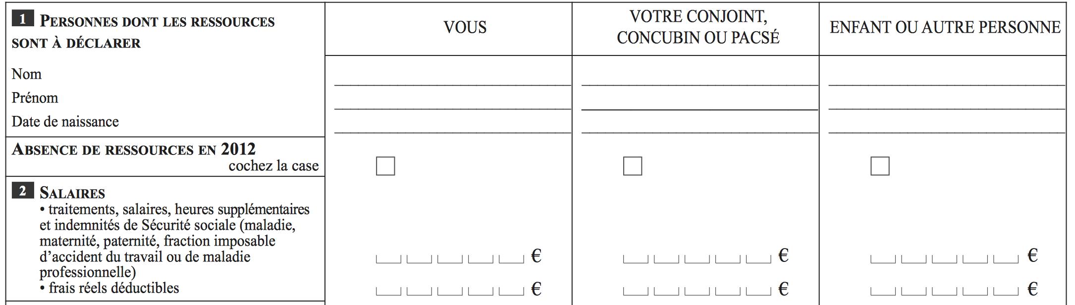 CAF TRIMESTRIELLE TÉLÉCHARGER DÉCLARATION FORMULAIRE